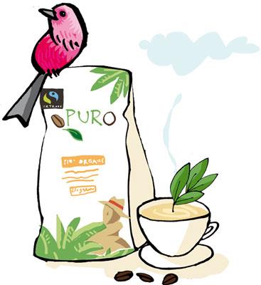 Puro Fairtrade Kaffee – Rettet den Regenwald