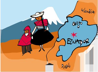 Ecuador Rainforest Map